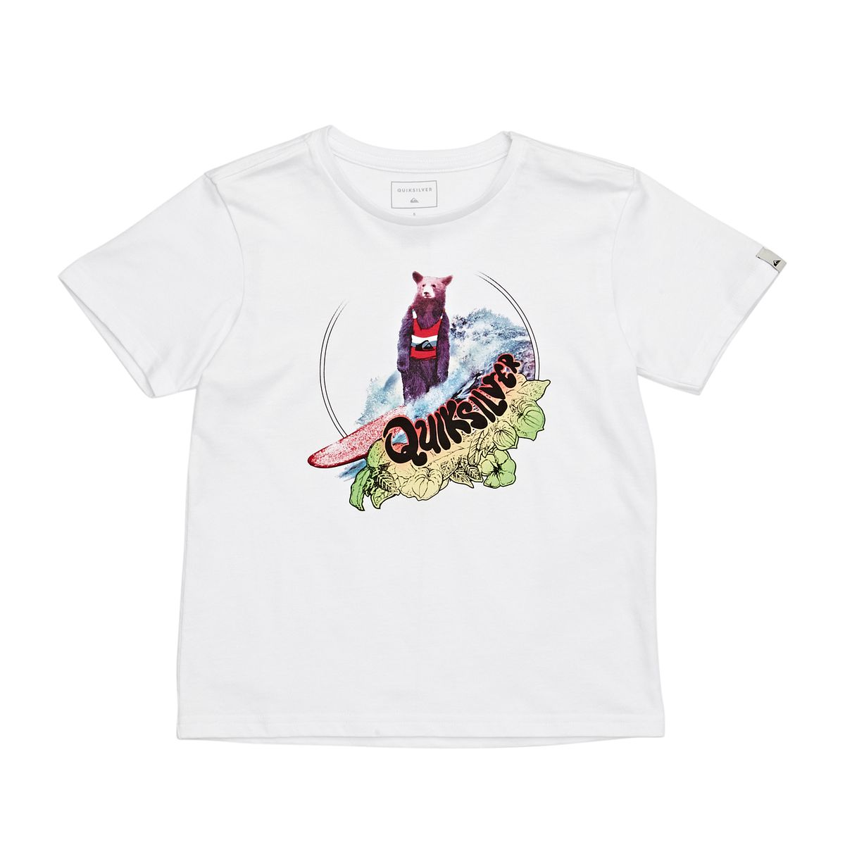 LOG BEAR BOY K TEES