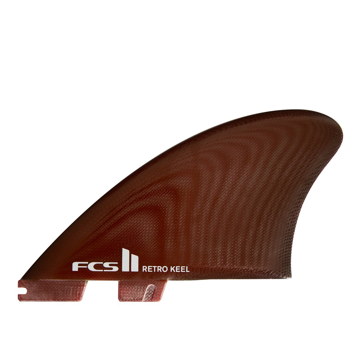 QUILHAS FCS II RETRO KEEL PG TWIN FINS